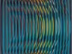 Jan Ziemski,Refleksy,technika mieszana,1974,48x48cm