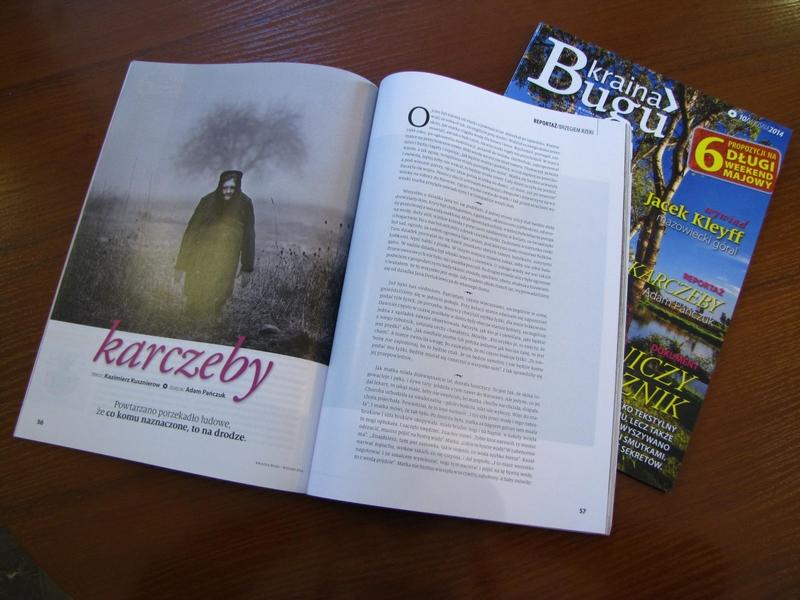 """""""Karczeby"""" – fotografie Adama Pańczuka."""