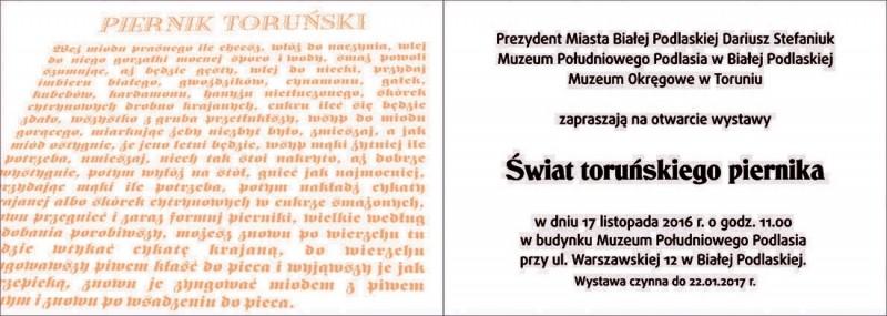 Świat toruńskiego piernika.