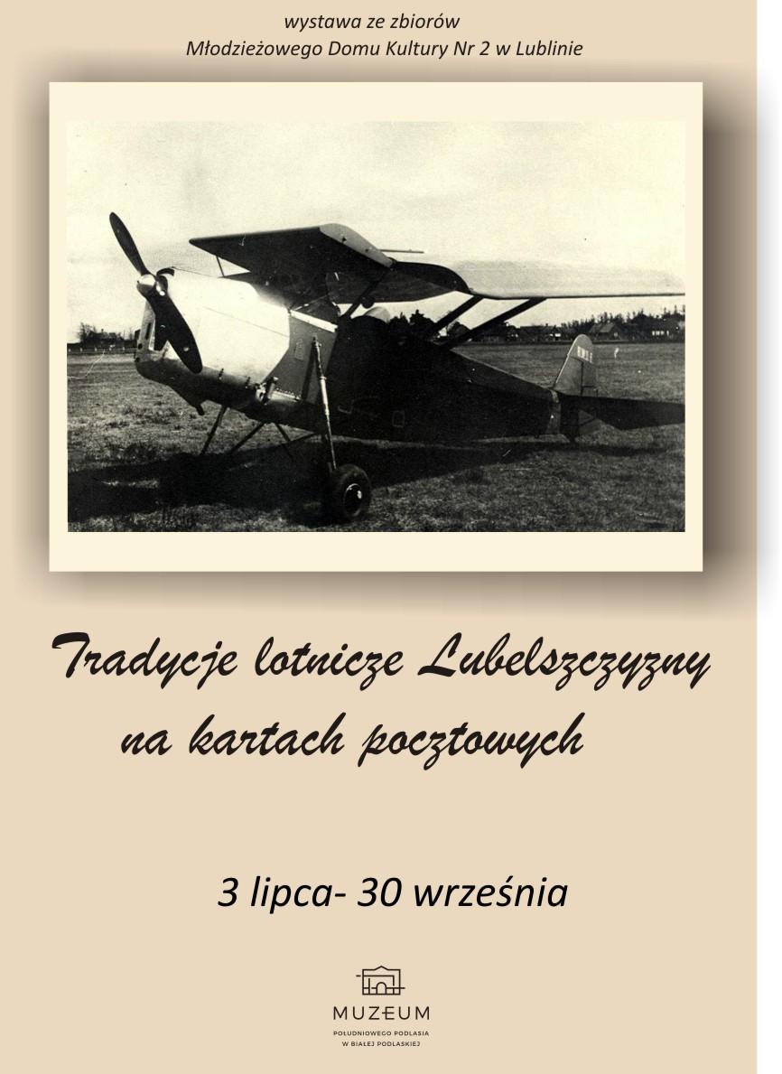 Tradycje lotnicze Lubelszczyzny nakartach pocztowych