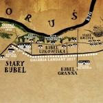 7 LAND ART FESTIWAL mapka
