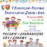 IEuropejski Festiwal Tradycyjnych Zabaw iGier