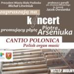 Koncert Piotra Arseniuka, dwukrotnego stypendysty Prezydenta Miasta Biała Podlaska