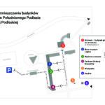 Plan rozmieszczenia budynków Muzeum – aktualizacja parkingu