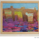 Marian Nowiński rysunek plakat kolor