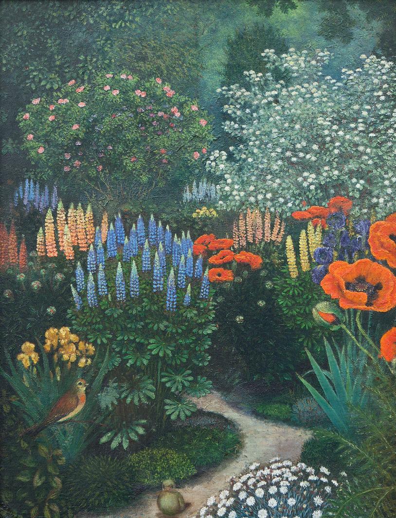 Bazyli Albiczuk, <i>Ogród<i>