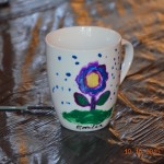 Muzeum na wyjeździe. Warsztaty plastyczne - malowanie na ceramice.