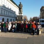 Wycieczka Laureatów Konkursów związanych zRokiem Niepodległości. Fotorelacja